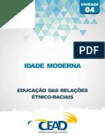 RELACOES ETNICO-RACIAIS - UNIDADE 4 IDADE MODERNA