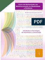 E-book Introdução Às Tecnologias de Informação e Comunicação