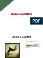 Lenguajes AUDITIVO