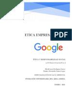 Eje 2 Ética Empresarial Google