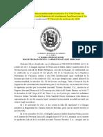 No pueden considerarse como inconstitucionales los artículos 38 y 39 del Decreto con Rango (1)