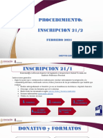 Inscripcion Nuevo Ingreso 21 2