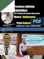 Anti Korupsi Adminkes