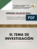 EL TEMA,PROB, PLANTEAM,OBJETIVOS,JUSTIFICACIÓN 25 OCTUBRE