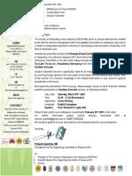 University  Muhammadiyah Jakarta - Invitation Letter Studium Generale Respina 2021
