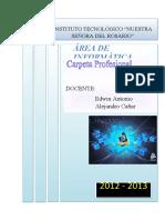 planificacion bloque 1 2012-2013