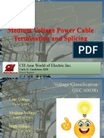 Medium Voltage Power Cable Termination and Splicing - for presentation
