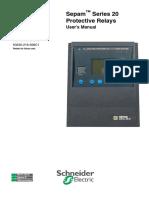 Sepam Series 20 User Manual