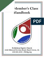 New Members Handbook 2011