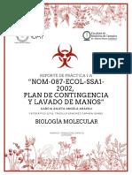 Reporte de Práctica NOM 087