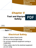 Chapter 05 Tool and Equipment Safety