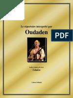 Le Repertoire Interprete Par Oudaden