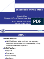 MSE Walls Construction
