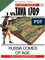 (Campaign) Angus Konstam - Poltava 1709_ Russia Comes of Age -Osprey Publishing (1994)