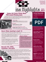Hopkins Highlights - March 2011