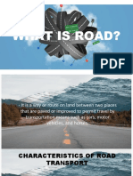 Importance and Classification of Road