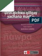 Manual de Escritura QUECHUA SUREÑO