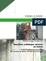 LPC 67 Reaction Sulfatique Interne