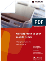 openTrends Mobile Solutions brochure