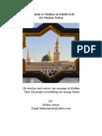 The brief biography of Hazrat Khaja Haji Nisar Mohammed Shah Niazi Chisti
