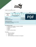 Confirmación de la reserva Senderismo en Concepción, Ruta Ancestral