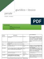 Glossario Giuridico Es Consegnato 300117