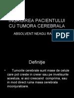 Îngrijirea Pacientului Cu Tumora Cerebrala