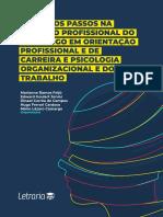 Primeiros Passos Na Atuação Profissional Do Psicólogo Em Orientação Profissional e de Carreira e Psicologia Organizacional e Do Trabalho Letraria