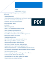 Microsoft Teams Documentacion