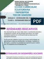 Currículo Clase 6 Estandares Educativos