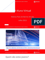 O aluno virtual
