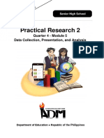 Module 5 - Data Collection Presentation and Analysis