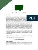 Libya Constitution