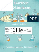 3. Nuclear Reactions