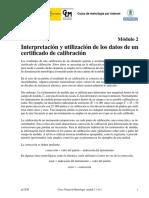 Interpretacion certificado