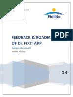 Pidilite Dr Fixit App
