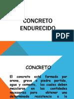 9. CONCRETO ENDURECIDO (Clase 20.11.20)