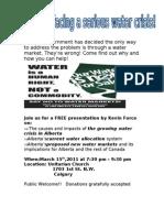 World Water Day'11