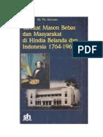 Tarekat Mason Bebas Dan Masyarakat Di Hindia Belanda Dan Indonesia