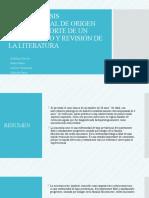 MUCORMICOSIS RINOCEREBRAL DE ORIGEN DENTAL, REPORTE DE
