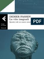 Le Vite Ineguali. Quanto Vale Un Essere Umano by Didier Fassin (Z-lib.org)