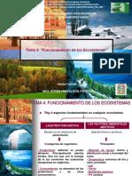 4. Funcionamiento de los ecosistemas