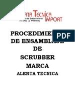 PROCEDIMIENTO DE ENSAMBLAJE SCRUBBER 2020