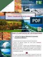 5. Clasificación de los ecosistemas
