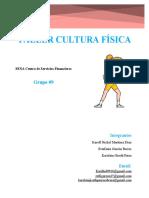 TALLER CULTURA FISICA, KAROLL NICKOL MARTINEZ DIAZ, ESTEFANIA GARZON BERRIO, KAROLAIN GISETH PARRA