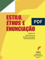 Estilo, éthos e enunciação. Eliane Soares de Lima