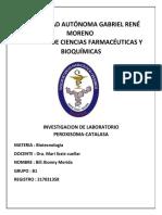 PEROXISOMA - CATALASA