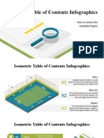 Isometric Table of Contents Infographics by Slidesgo