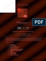 Stepattern Polyphonic Pattern-Based 8 Step Sequencer Synthesizer VST VST3 Audio Unit Plugins for Windows and macOS 64 bit