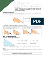 Matemática 1º ano - Trigonometria, a introdução